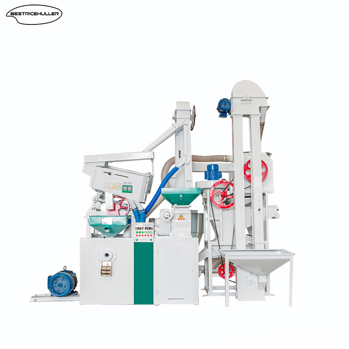 Integrated appearance design rice mill machine