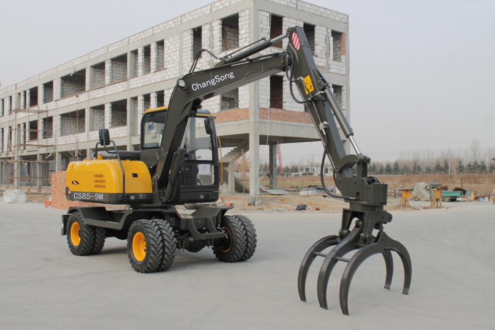 Grapple Machine Wheel Excavator