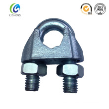 Rigging hardware electric galvanized type B wire rope clip