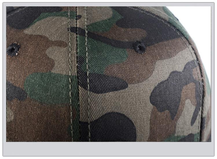 Camouflage hip-hop hat baseball hat man (8)