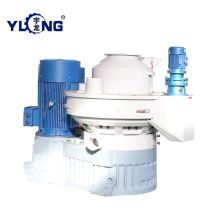 vertical ring biomass pellet machine xgj850 price