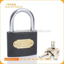 Tipo fino 50 milímetros cinza ferro padlock