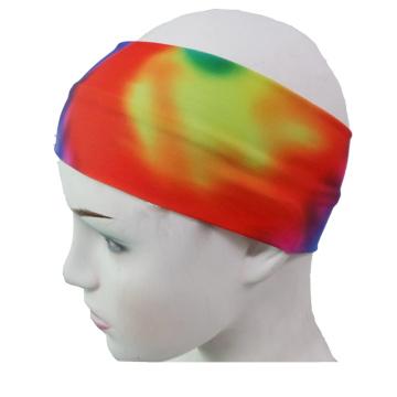 Lycra Sports Head Band, banda de cabeça de esportes (HB-01)