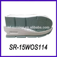 Novo design pu material não deslizamento solas solas de calçados solas exteriores solas sapatos
