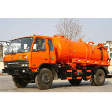 Suction sewage truck with 6M3, EUROIII emission standard