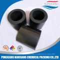 High quality carbon graphite carbon raschig ring tower packing