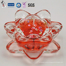La decoración caliente de la venta fabrica la fuente tipo vela de la taza de cristal con certificado de alta calidad