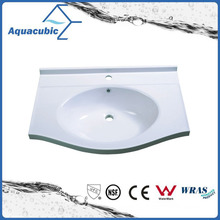 Good Quality White Polymarble Vanity Tops Acb9055