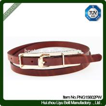 Genuine Leather Belt Lady Female Thin Strap Cintos de couro Skinny Fashion Women Ceinture for Dress Jeans Italian Leather