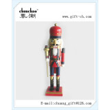 wooden soldier nutcracker for christmas decoration