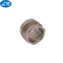 Berongga berkualitas tinggi stainless steel hex bushing part