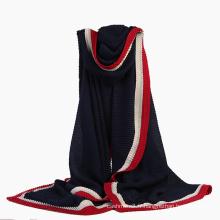 Écharpe en tricot châle tricoté longue au printemps (SW141) pour femme