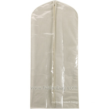 PEVA /Canvas Garment Cover for Dresses or Mens Suits (HBGA-21)