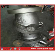 API 594 Tipo de brida Válvula de retención basculante de placa única