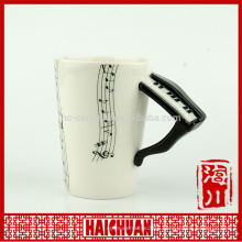 hollywood mirror piano ceramic mug