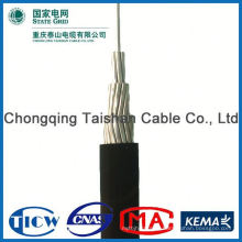 Professional Factory Supply!! High Purity abc aac acsr aaac xlpe insulated overhead aerial bundle cable