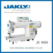 JK8800 com excelente desempenho mecânico computador máquina de costura industrial de ponto único de agulha com auto-aparador