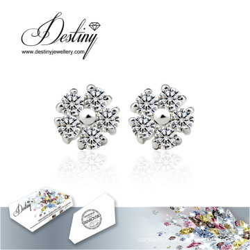 Destiny Jewellery Crystals From Swarovski Earrings Snowflake Earrings