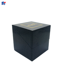 Exquisite Black Jewelry Paper Box