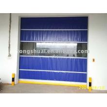 grande porte PVC isolée