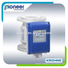 Medidor de flujo electromagnético krohne