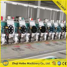 tapa de cabezal único bordado máquina de m & m máquina bordado diseños cuentas bordado llano bordado máquina