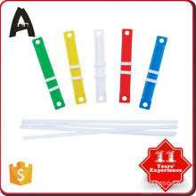 Reasonable & acceptable price factory supply plastic fasteners for paper