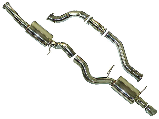 Ford Fg 4 Inch Turbo Back Exhaust