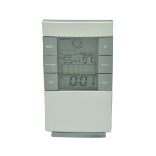4 in 1 function  LCD digital alarm clock