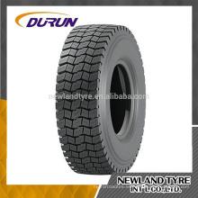 Neumático de la camioneta de la marca mytestDurun 295 / 80R22.5 315 / 80R22.5 12R22.5 11R22.5