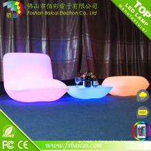 Ensemble de canapé moderne / Mobilier de LED / Mobilier de jardin extérieur LED