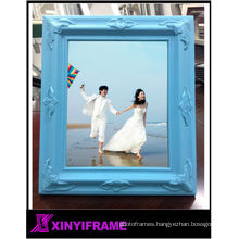 fineness wood photos frame baroque as christmas decoration