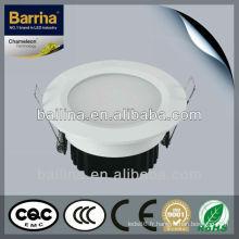 Haute performance 2, 5W-15W puissance facultative led spot de plafond intégré