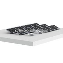 Bâti solaire de panneaux solaires de toit plat du système 1000KW