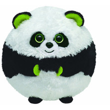 customized OEM design!soft stuffed panda ball plush toy