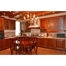 Sociedade Hill Shaker (Mocha) Gabinete de cozinha de madeira maciça