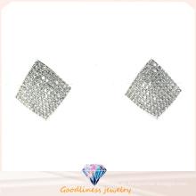 Pendiente de brillo del precio de fábrica de la joyería de la manera de la plata esterlina 925 (E6384)