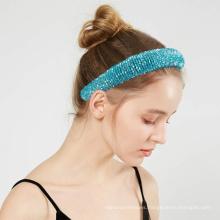 2021 Fashion Baroque Rhinestone Hairband Crystal Headband Girls Hair Hoop with Best Quality