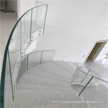 Curved Tempered Insulated Double Glazing Building Glass In China