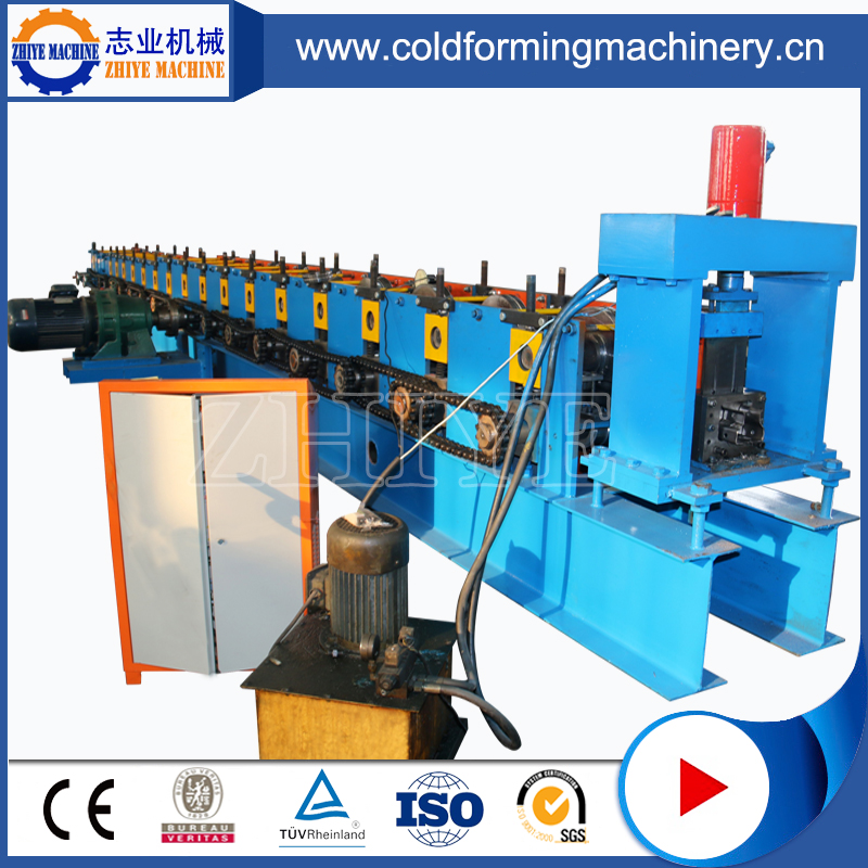 automatic shelves pillar machine
