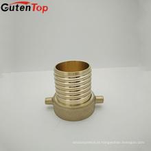 GutenTopBrass Pipe Adapter ar condicionado compressão cobre acessórios para tubos
