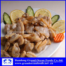 Frozen cooked baby clam meat