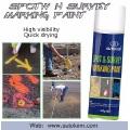 Inverted Marking Paint Verwendung als Line Marking Lack für Road und Spot / Field Marker Aerosol Spray Free Probe