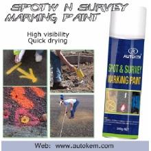 Inverted Marking Paint Uso como tinta de marcação de linha para estrada e Spot / Field Marker Aerosol Spray Amostra grátis