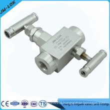 2 way gas valve manifold
