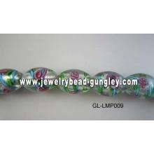 kleine Blume-Lampwork-Beads für DIY Schmuck machen