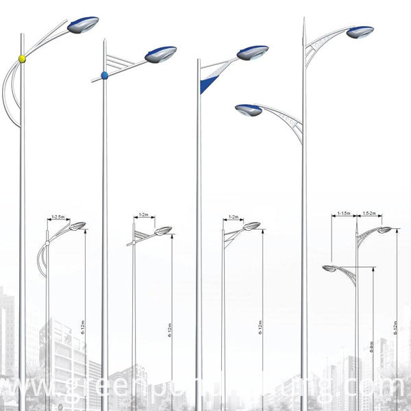 Hot-selling Street Lamp Poles