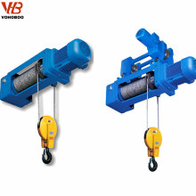 5ton electric winch hoist with wireless remote