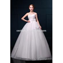 Новый Дизайн Элегантный Милая Декольте Органзы Свадебные Платья
