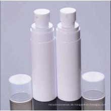 Weiße Plastiklotion und Spray Bottlefor Kosmetik-Paket